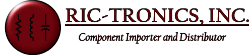 Ric-Tronics, INC.  Wholesale Electronic Components and Batteries